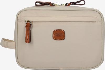 Bric's Kulturtasche in hellbeige / hellbraun, Produktansicht