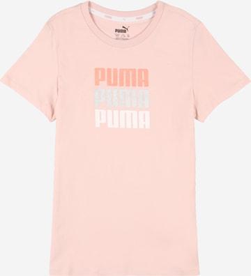 T-Shirt PUMA en rose
