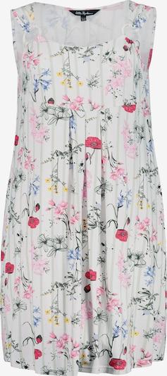 Ulla Popken Kleid in gelb / pink / rot / weiß, Produktansicht