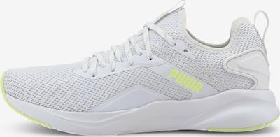 PUMA Chaussure de sport 'SOFTRIDE Rift Knit' en jaune fluo / blanc, Vue avec produit