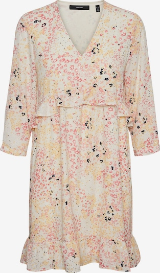 VERO MODA Dress 'Hannah' in Yellow / Grey / Light pink / Black, Item view