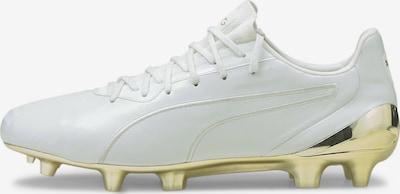 PUMA Chaussure de foot 'King Platinum' en or / blanc, Vue avec produit