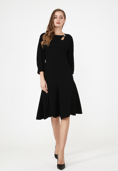 Madam-T Cocktailkleid 'UMBERTO' in schwarz, Modelansicht