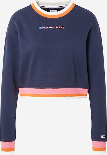 Tommy Jeans Sweatshirt in Navy / Orange / Pink / White, Item view