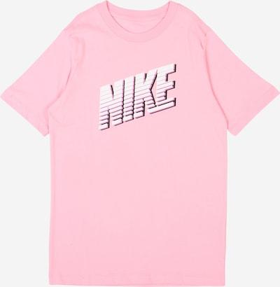 Nike Sportswear Shirt in rosa / weiß, Produktansicht