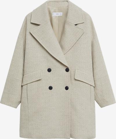 MANGO Manteau mi-saison en beige, Vue avec produit