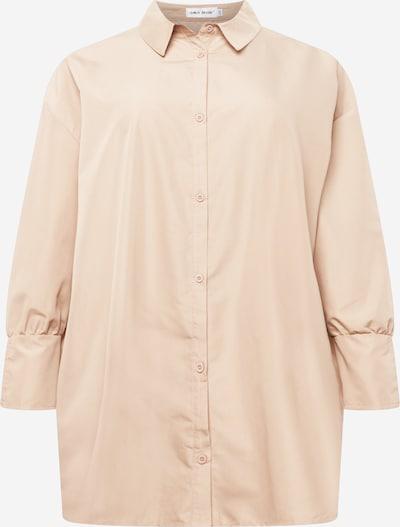 Public Desire Curve Robe-chemise en beige, Vue avec produit