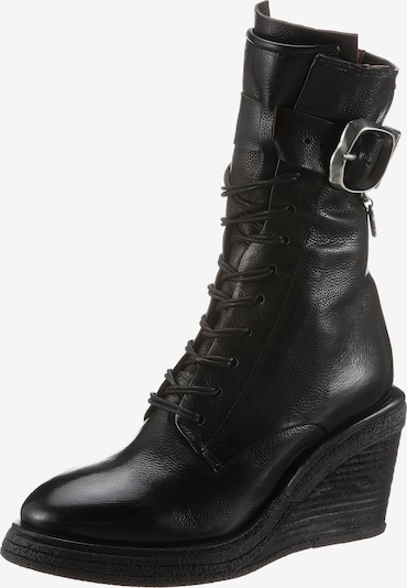 A.S.98 Lace-Up Boots in Black, Item view