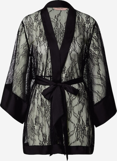 ABOUT YOU x hunkemöller Dressing gown 'Eva' in Black, Item view