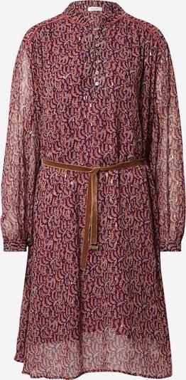 REPLAY Kleid in pastellgelb / rubinrot / melone / pastellrot, Produktansicht