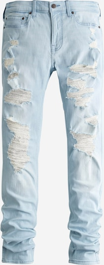 HOLLISTER Jeans 'SKNY STACKED ICY LIGHT MID DES' in blue denim, Produktansicht