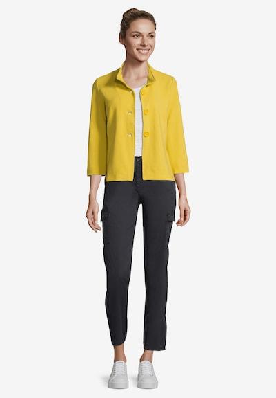 Betty Barclay Sweatvest in de kleur Geel, Productweergave