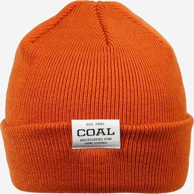 Megzta kepurė iš Coal , spalva - tamsiai oranžinė, Prekių apžvalga