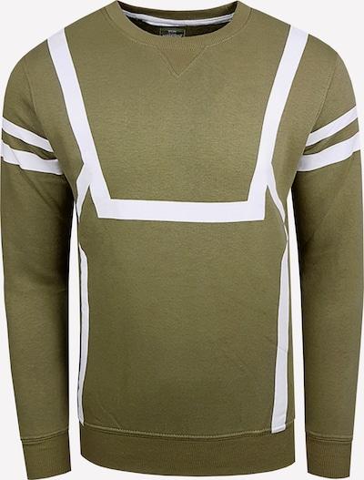 Rusty Neal Sweatshirt in oliv, Produktansicht