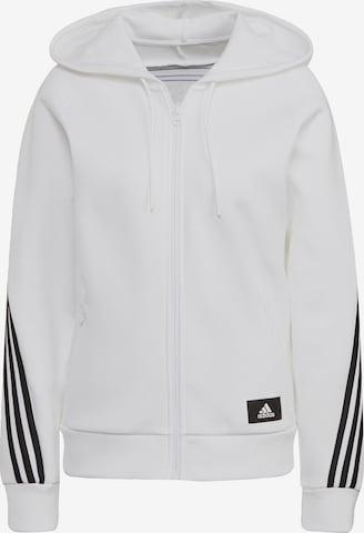 ADIDAS PERFORMANCE Sportsweatjacke in White