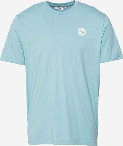 FILA T-Shirt 'OWEN' en bleu clair / blanc: Vue de face
