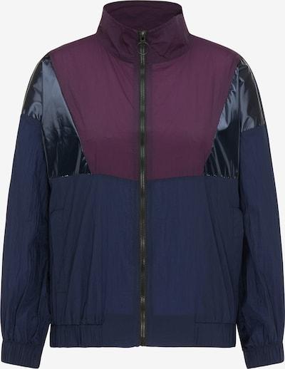 myMo ATHLSR Veste de sport en bleu marine / violet foncé, Vue avec produit