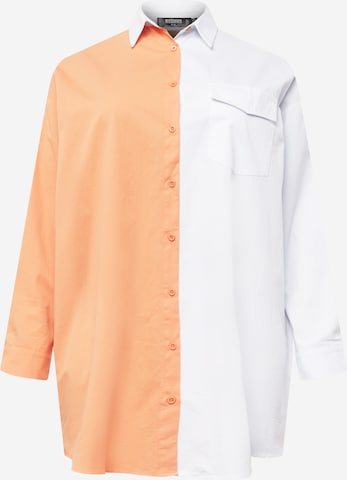 Missguided Plus Μπλουζοφόρεμα σε πορτοκαλί