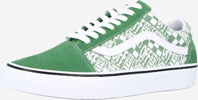 VANS Sneaker low 'Old Skool' i grøn / hvid, Produktvisning