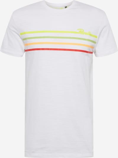 Petrol Industries T-Shirt in mischfarben / weiß, Produktansicht