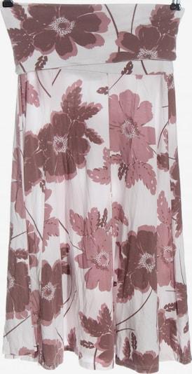 LASCANA Midirock in M in braun / pink / weiß, Produktansicht