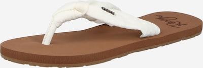 ROXY Sandalias de dedo 'PAIA IV' en blanco, Vista del producto