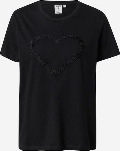 OVS T-Shirt 'SAN VALENTINO' in schwarz, Produktansicht