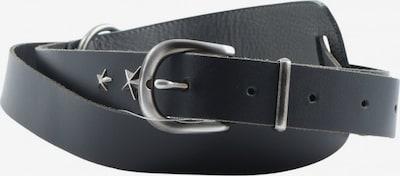 Kenny S. Ledergürtel in XS-XL in schwarz, Produktansicht