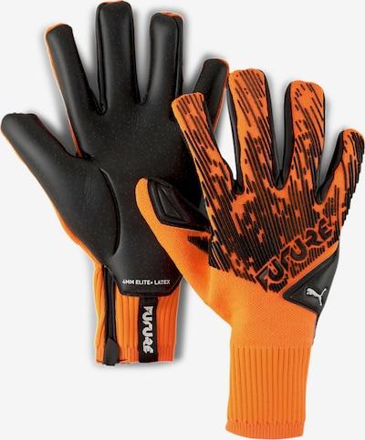 PUMA Gants de sport en orange / noir, Vue avec produit