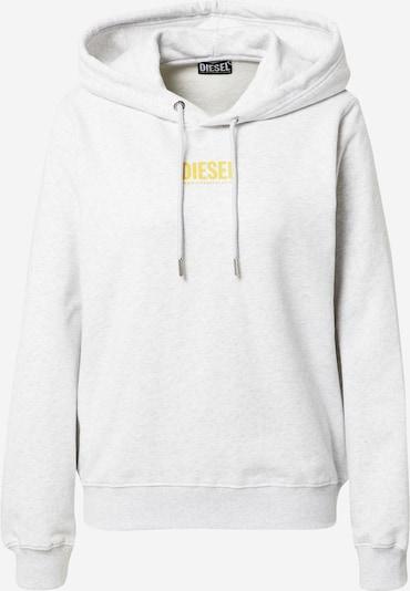 DIESEL Sweatshirt 'ANGS' i gul / grå-meleret, Produktvisning