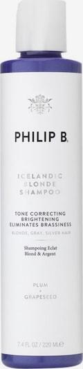 Philip B Shampoo 'Icelandic Blonde' in weiß, Produktansicht