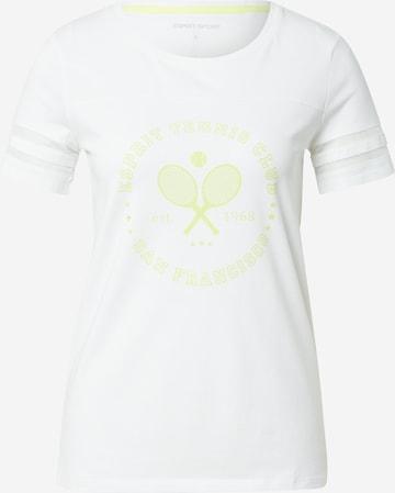 ESPRIT SPORT Functioneel shirt in Wit