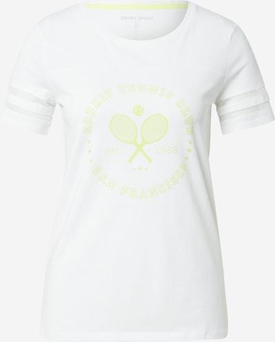ESPRIT SPORT T-shirt fonctionnel en vert clair / blanc, Vue avec produit