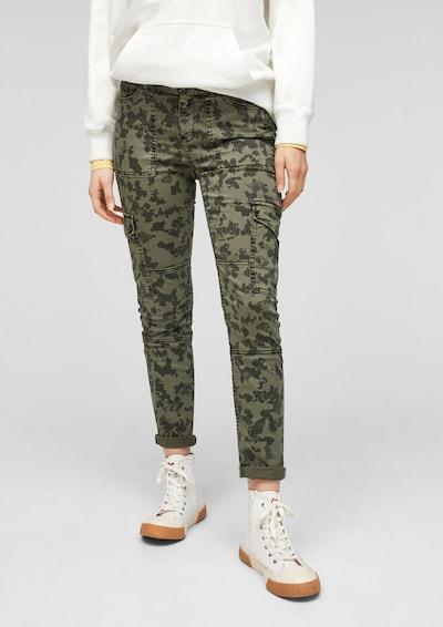 Pantaloni cargo s.Oliver di colore cachi / oliva, Visualizzazione modelli