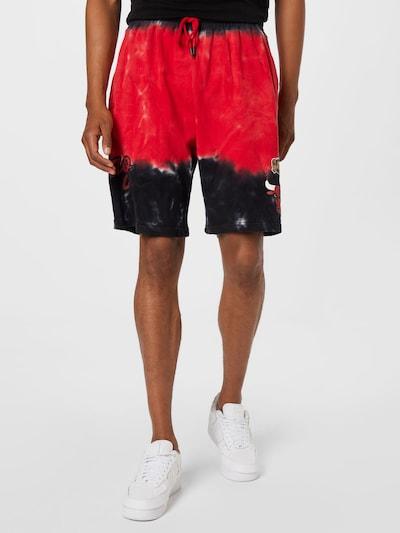Mitchell & Ness Nohavice - červená / čierna / biela, Model/-ka