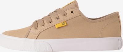 DC Shoes Sportschuh 'Manual' in hellbraun / gelb, Produktansicht