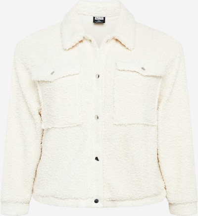 Urban Classics Curvy Tussenjas in de kleur Wit, Productweergave