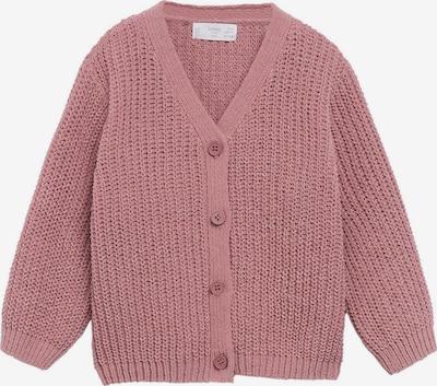 Geacă tricotată MANGO KIDS pe roz, Vizualizare produs