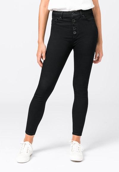 HALLHUBER Jeans in black denim, Modelansicht