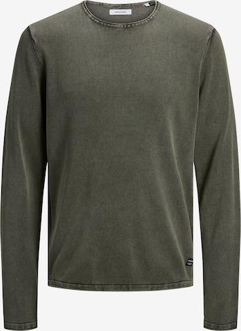 JACK & JONES Sweater 'Leo' in Green