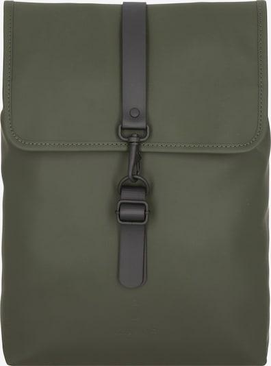 RAINS Rucksack in oliv, Produktansicht