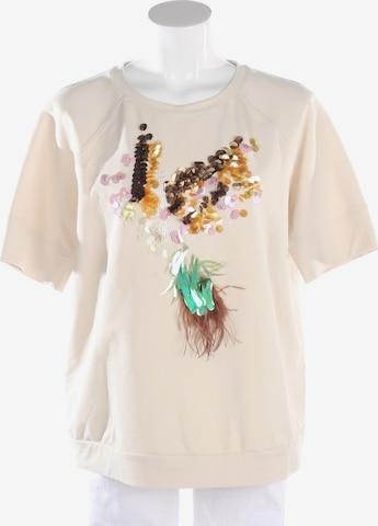 Riani Sweatshirt & Zip-Up Hoodie in XL in White