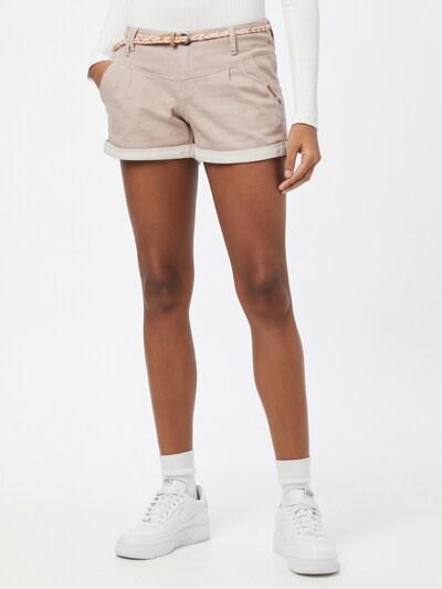 Ragwear Shorts 'Heaven A' in pastellpink / weiß, Modelansicht
