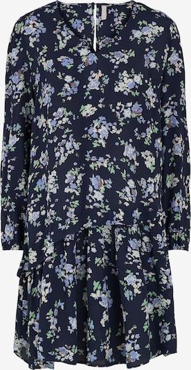 PIECES Kleid 'Dakota' in rauchblau / nachtblau / opal / braun / hellgrün, Produktansicht