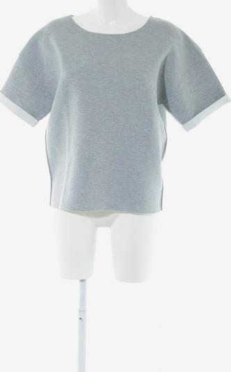 PARFOIS Sweatshirt in XS-XL in hellgrau / weiß, Produktansicht