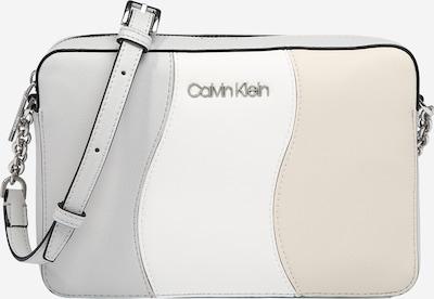 Calvin Klein Taška přes rameno - krémová / světle šedá / bílá, Produkt