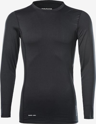 ENDURANCE Funktionsshirt 'Lebay M L/' in schwarz, Produktansicht