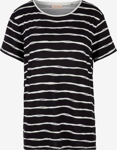 TRIANGLE Shirt in schwarz / weiß, Produktansicht