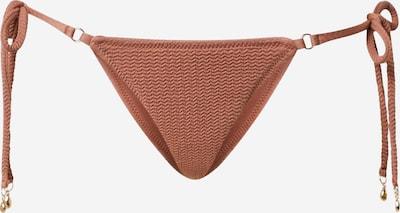 Seafolly Bas de bikini 'Rio' en rouille, Vue avec produit