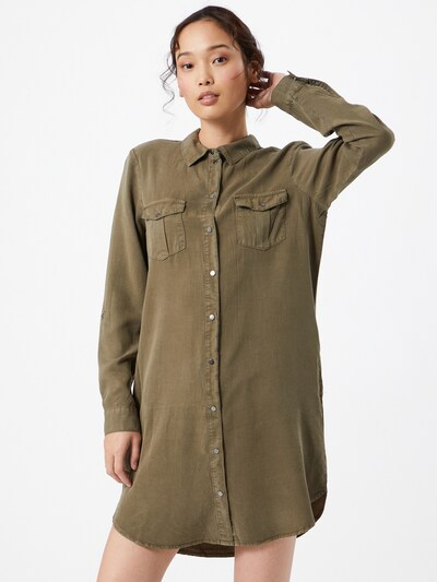 VERO MODA Shirt dress in Olive, View model